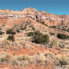 Capitol Peak Mountain, Palo Duro Canyon<br /> This panorama was stitched from 6 photos with the camera held in portrait (vertical) mode. Before sizing down for FB, the image is printable at 60 inches.