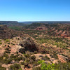 Went hiking in Palo Duro Canyon yesterday. Captured this image of the canyon from the visitor center.