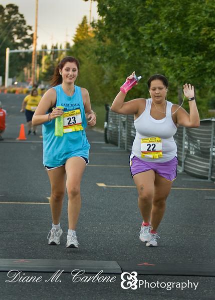 August 21, 2011<br /> Sunday, 7:41pm<br /> <br /> Taryn and Krystal ran in the Salmon Creek Sunset 14K Run - go girls go!!!