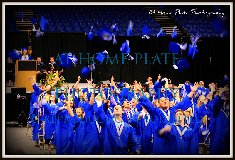 June 9, 2011<br /> Thursday, 10:13pm<br /> <br /> Gresham High Graduating Class of 2011<br /> <br /> f/2.8, 1/80, 70mm, ISO 800