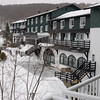 March 13 - Went to Lac Beauport for the Jr. Nationals ski competition with Dennis. We stayed here, in the St-Castin Manor.
