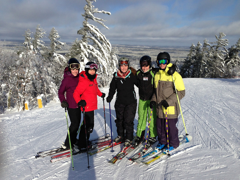 Dec 25 - What better way to spend Christmas than to ski with all of your family. It was the BEST!