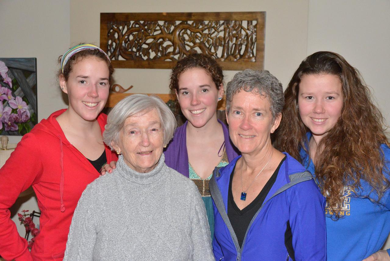 Dec 26 - The girls