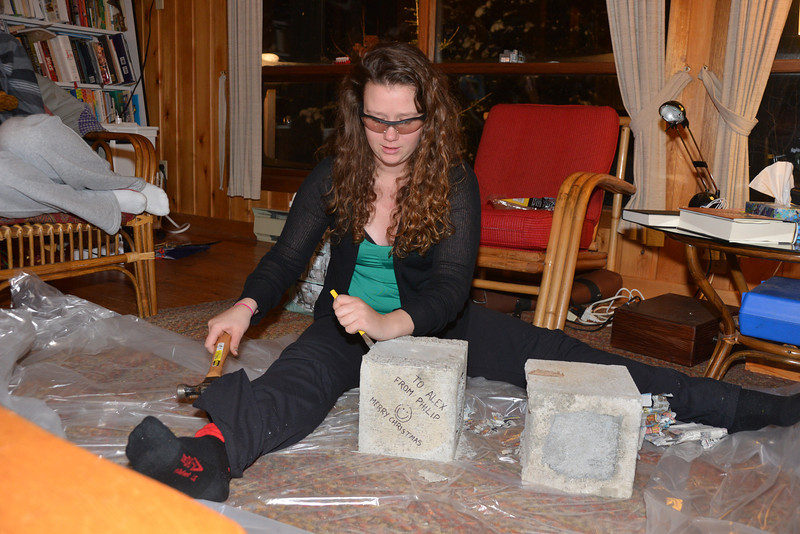 Dec 30 - It took Alexandra 5 days to even make the attempt to open it.