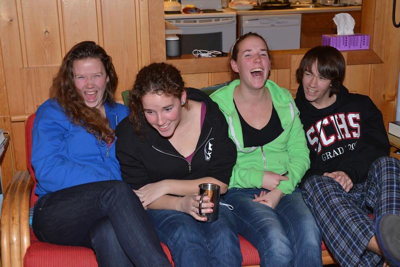 Dec 24 - Having fun on Christmas eve.