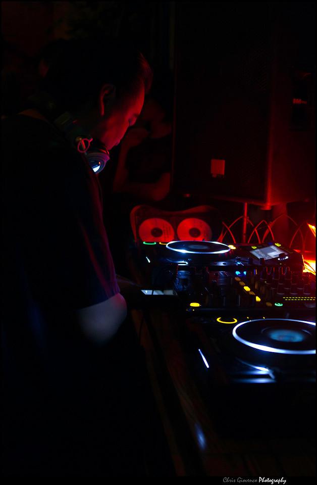 Day 43: DJ Hycloud @ The Church.