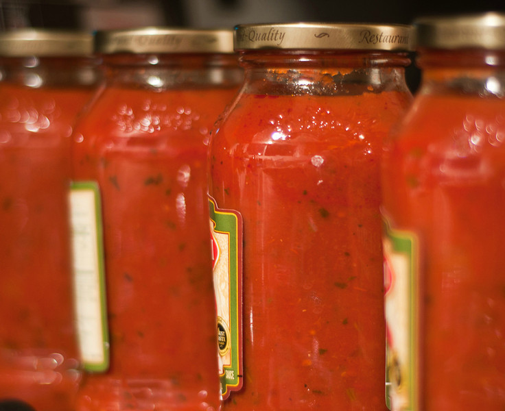 February 19, 2013 -- S is for <b>spaghetti sauce</b>