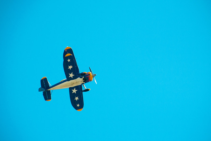 September 14, 2013 -- Biplane over MV