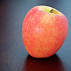 April 10, 2013 -- Apple 2. Same apple, same location as apple 1, dusk light from a SE facing window and a white reflector