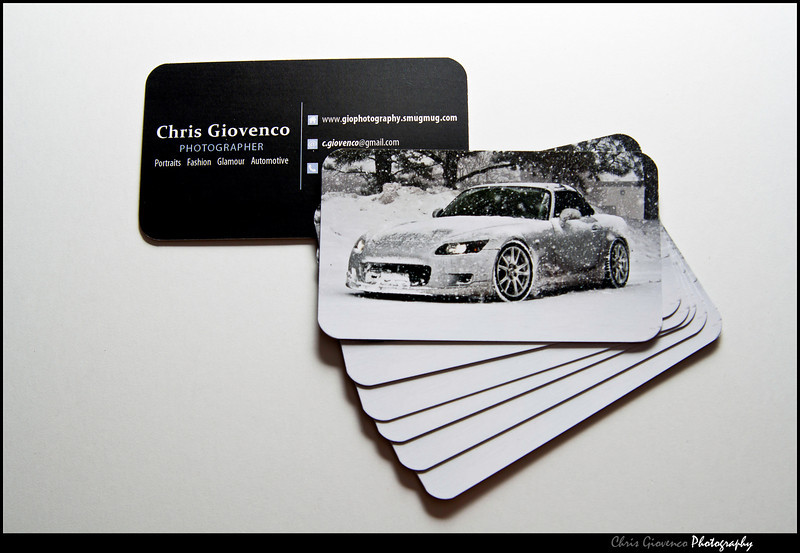 Day 35: Business Cards