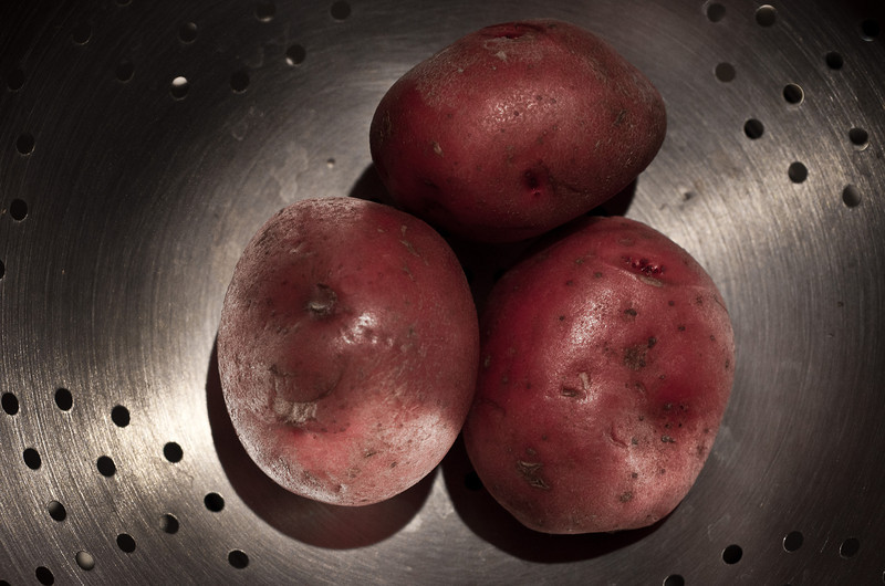 February 14, 2013 -- N is for <b>new</b> red potatoes.