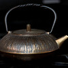 February 27, 2013 -- A brass teapot. <br /> <br /> I hardly knew what to do today without a letter to inspire an idea.