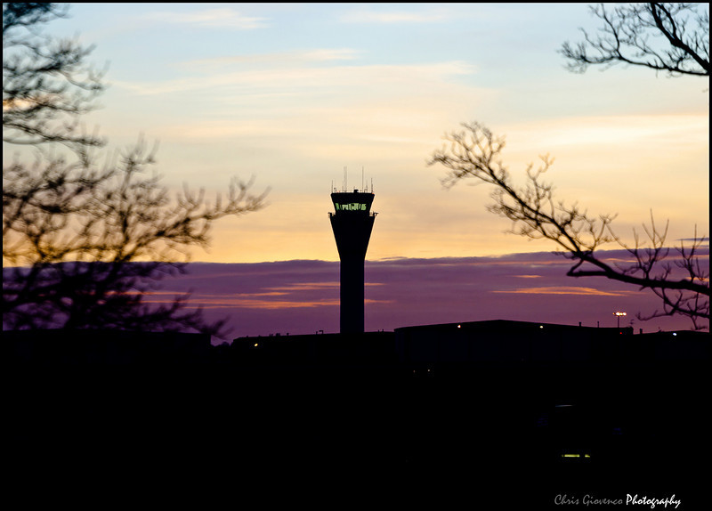 Day 27: Shot from work, sunrise Centennial Airport Tower
