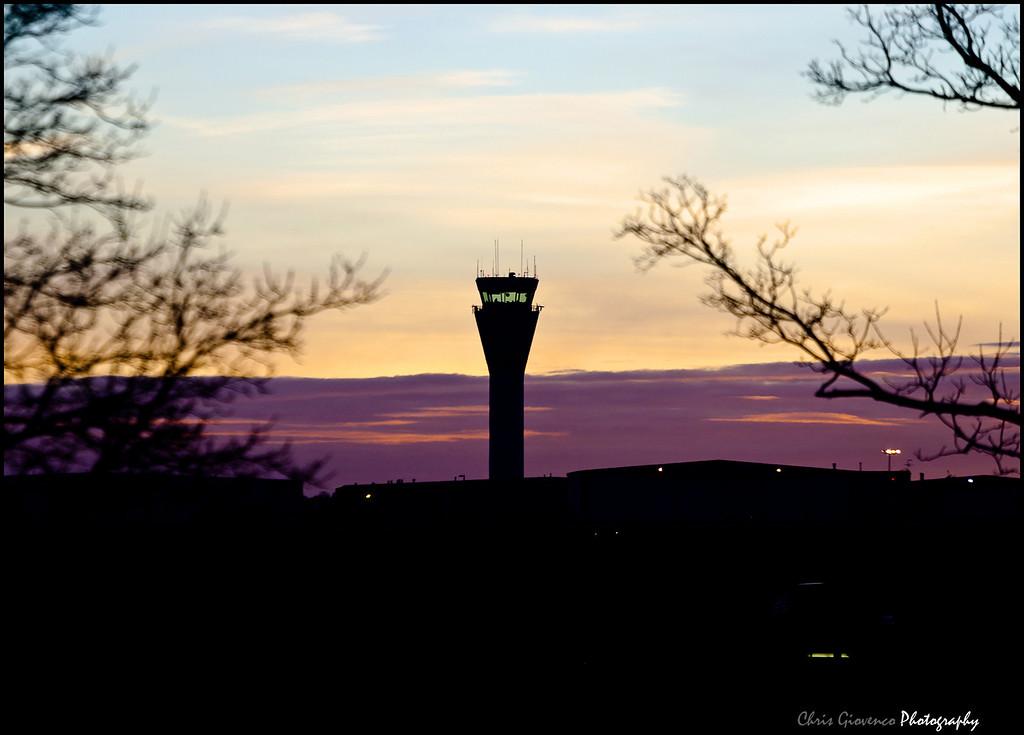 Day 27: Shot from work, sunrise Centennial Airport Tower