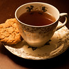 February 20, 2013 -- T is for <b>tea</B> and cookies.