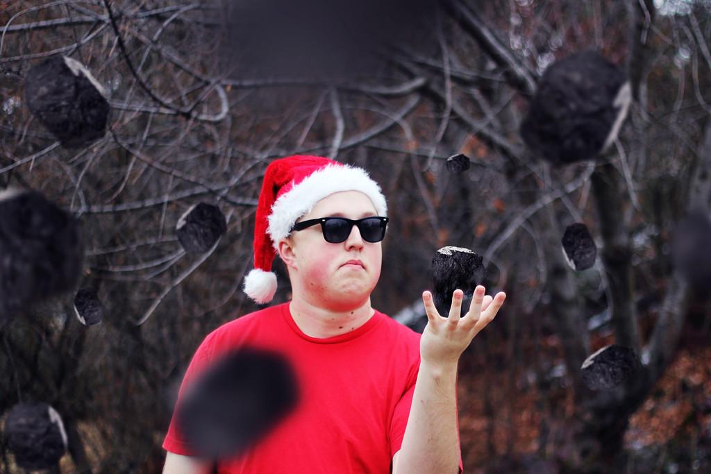 How Santa Throws Shade..... 316/365 12/13/13