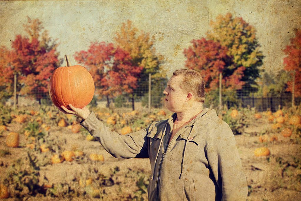 The Pumpkin King..... 268/365 10/26/13