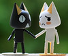 Day 171- Kuro is telling Toro that his twin is missing, he hasn't been home for a few days.  #365Project (2010.06.20)