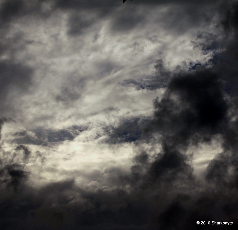 Day 180-Today's sky, thought it would bring a storm on, but not here. Maybe tomorrow it will be cooler in the high 80's! yay!! #365Project (settings: 100.0mm 1/200s f/20.0 ISO: 100) @sharkbayte
