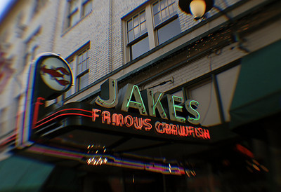 1224 old - food  Jakes has been serving Portland since crawfish were invented.