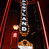 1229 downtown<br /> <br /> Portland's iconic sign, shot through a light structure.