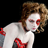 """1219 worn<br /> <br /> Creative make-up and costumes were worn by models at the Westcott Lights booth during the Photoshop World trade show.  <a href=""""http://fjwestcott.com/"""">http://fjwestcott.com/</a>"""