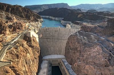 0902 Hoover Dam  I'm not sure if I'm more surprised by the drop in water level of Lake Mead, or by the  fact that there is a song called Hoover Dam.