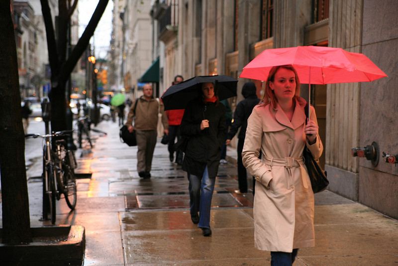 April 15, 2009<br /> <br /> Day 41 of 365<br /> <br /> 16th and Walnut<br /> Still Raining