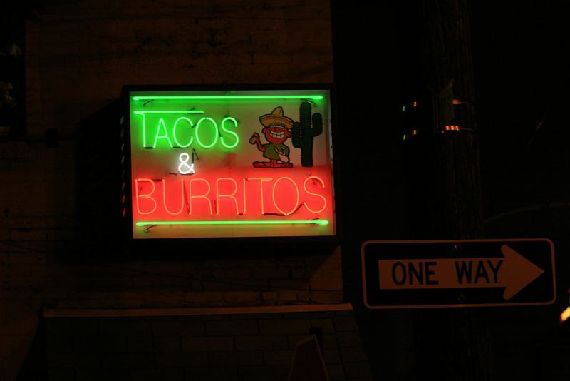 May 2, 2009<br /> <br /> Day 58 of 365<br /> Tacos & Burritos<br /> 10th and Buttonwood<br /> <br /> Jose's, I love this place.