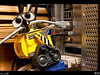 Wall-e is trying to get more bandwidth so his internets can go faster