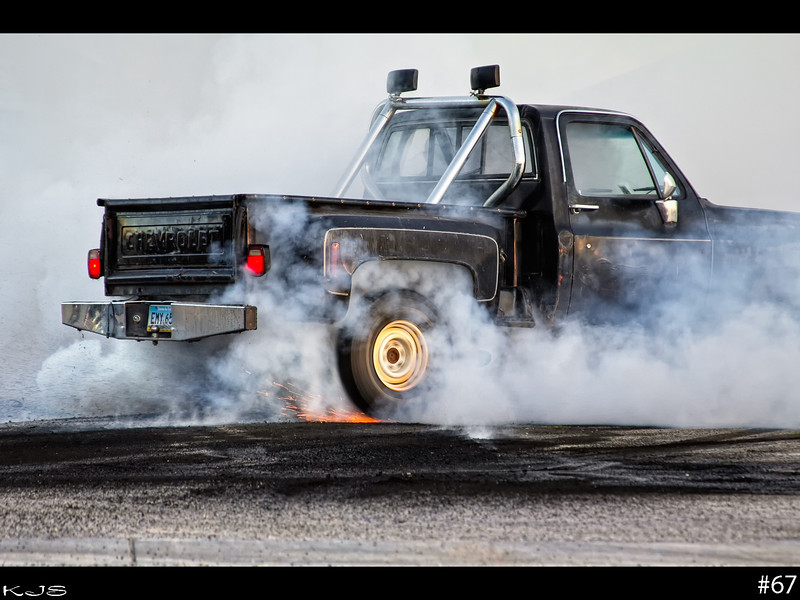Rendezvous Region Rod Run is going on this weekend. They held the burnouts last night. I did a lot more video work as video seems to capture a better feel for the event.