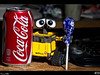 Wall-e is going for a sugar high!