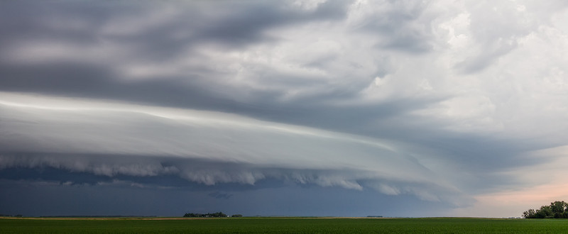 Thunderstorms are active here once again.  I watched this shelf cloud come in and it was awesome as it was huge.