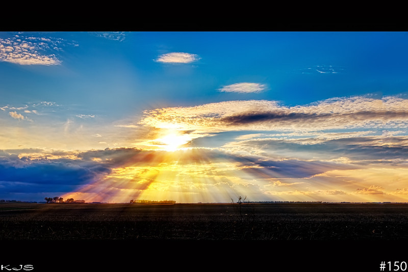 Eye of Light<br /> <br /> The sun turned into an appearing eye and along came the rays of light like the eye was searching for something. Maybe it's a sign that someone is really watching over us and is keeping a closer watch on us more than we think.