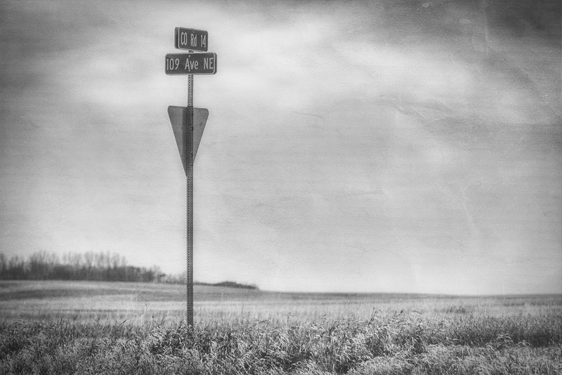 Sign<br /> a textured black n white for monochromemonday