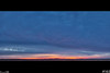 Oct 25 Sunrise<br /> The clouds are heavy and not letting the sun break through, but made for some pretty colors.