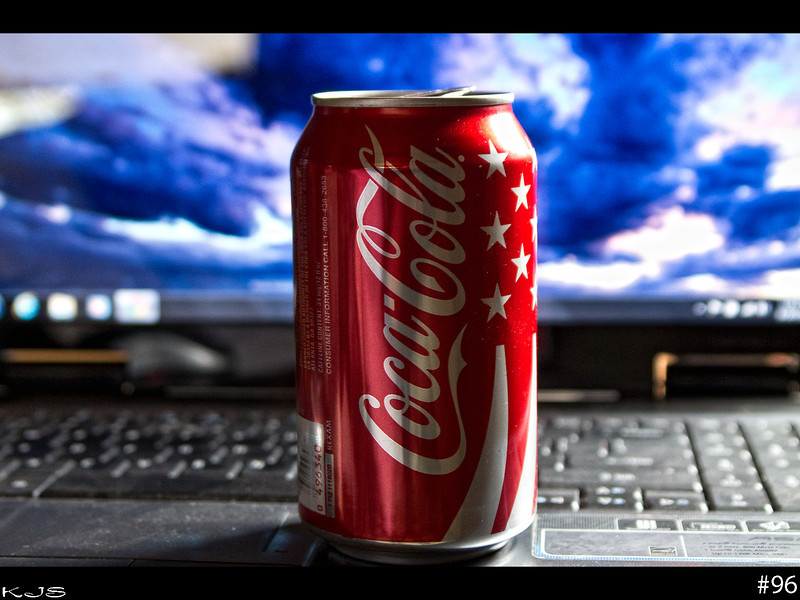 Coke<br /> Saturday brought another day of not moving much and lots of pain meds. I still want to keep the 365 project going tho even tho it feels like a steam roller rolled right over me.