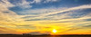 Sunset<br /> By the landmarks of the country side I would say the sun has traveled a little over a half mile to the south. It will travel between two farms that are a mile apart from fall to spring
