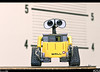 Wall-e<br /> Wall-e came into work with me on Sunday, it was his first time in the jail booking room