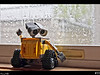 The hopes of the weatherman being wrong are quickly diminished upon looking out the window this morning. Wall-e isn't the only one feeling the disappointment of seeing rain. It's going to be a lazy day and tomorrow's forecast isn't looking any better.