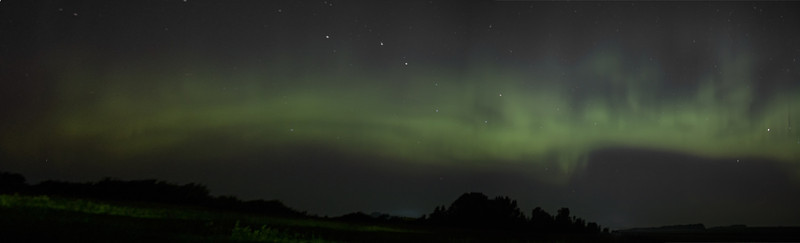Northern Lights with Big Dipper 7/16/2012