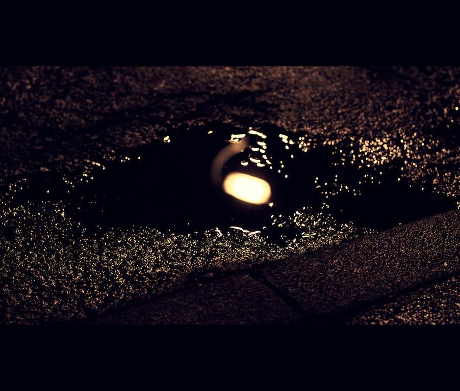 Light in the rain