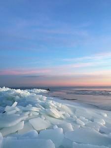 Ice flow 1-20-18