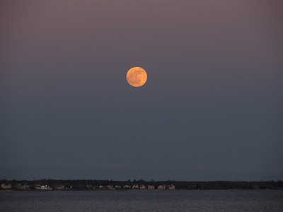 Full Moon over Patchogue