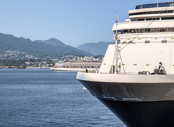 0819 travels<br /> <br /> Celebrity Cruise Lines' Century sails out of Vancouver enroute to Alaska, while the MS Statendam gets ready to embark on the same journey.