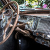 1104 interior<br /> <br /> Look at all the beautiful chrome on this old Lincoln!  And that's just on the inside!