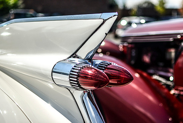 0729 sharp  The fin of this '59 Cadillac is pretty sharp.