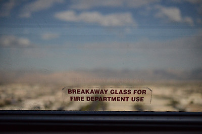 1221 hot  The first day of Winter seems like a good day to look at a photo from Photoshop World of the 105 degree Las Vegas desert (or dessert, I never really know.)  The shot is through the window of my hotel room, and while it's somewhat comforting to know that it was my window that would provide access to the fire department, I hoped they would knock first.