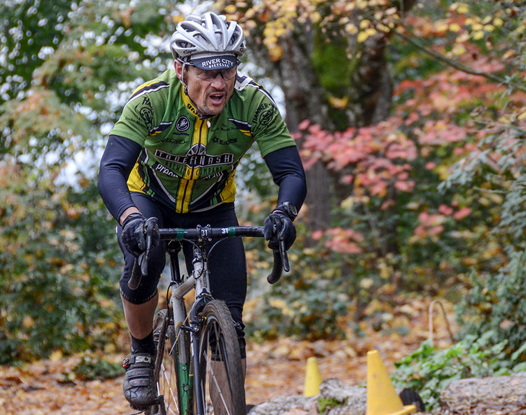 1201 maturity<br /> <br /> A senior category participant in a recent cyclocross race.