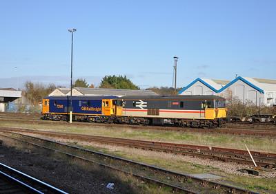73205 and 73141, Eastleigh.